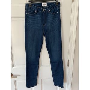Paige Hoxton Ankle High Waist Jeans Size 27